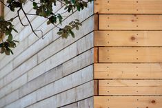 H Arquitectes: House 205 - Thisispaper Magazine Contemporary Architecture, Architecture Details, Recycled Furniture, Diy Furniture, Porches, Wood Facade, Wood Siding, Siding Options, Small Outdoor Spaces