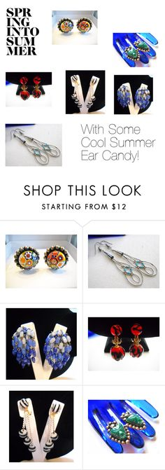 Cool Summer Ear Candy by findcharlotte on Polyvore featuring vintage