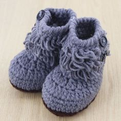 New 2-8M Newborn Baby Toddler Infant Boy Girl Winter Warm Snow Boots Crib Shoes
