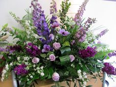 Sympathy Floral Designs | Flirty Fleurs The Florist Blog - Inspiration for Floral Designers
