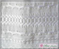 Marca: Karsten, 99% algodão e 1% viscose  Medida: 33 x 50cm  Cor: branca (canelada)  Trabalho: Fita de cetim, pérolas e renda guipir