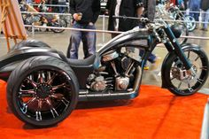 The Toronto Spring Motorcycle Show heralded the start to the 2012 riding season andbrought a slew of bikers to The International Centre over the we. Hot Bikes, Custom Motorcycles, Toronto, Cycling, Vehicles, Choppers, Cars, Badass, Wheels