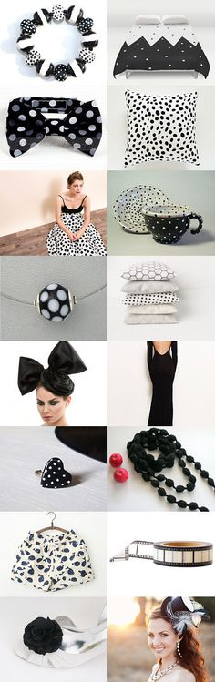 black and white for friday night by Maor Zabar on Etsy--Pinned with TreasuryPin.com