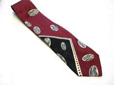 Red Black White Blue Green Necktie Silk Zylos by sweetie2sweetie, $17.99