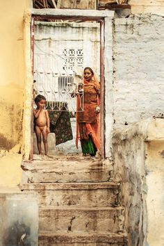 Life in Jodhpur, India is not as colorful and vibrant as other places.