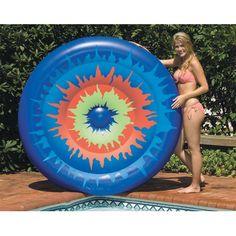Swimline Tie Dye Island Inflatable Pool Toy - NT1571