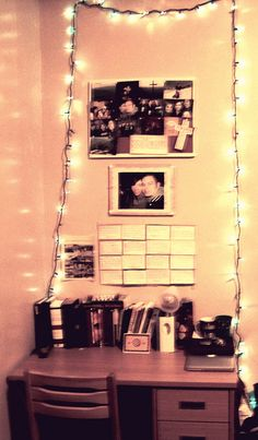 I will probably have clear Christmas lights around my side of the rooming if not the whole room , I hope my roommate doesn't mind.