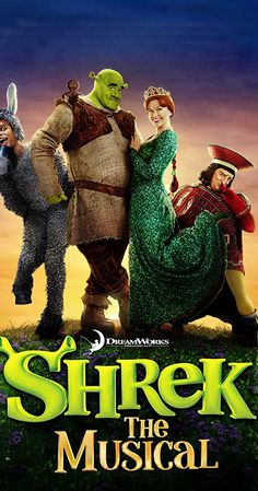 Directed by Michael John Warren.  With Brian d'Arcy James, Sutton Foster, Christopher Sieber, John Tartaglia. Make room for ogre-sized family fun as the greatest fairy tale never told comes to life in a whole new way in this breathtaking Broadway musical adaptation of the hit movie Shrek!