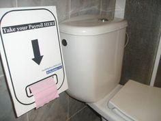 toiletpayroll creative job ad