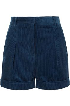 Shop on-sale Danielle pleated cotton-corduroy shorts. Browse other discount designer Shorts & more luxury fashion pieces at THE OUTNET Shorts Diy, Shorts Sale, Cute Shorts, Cute Summer Outfits, Short Outfits, Cute Outfits, Stella Mccartney, Cara Delevingne, Leather Midi Skirt