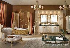 WEBLUXO - Casa & Decoração: Luxo de banheiros que nasceu da inspiração da Lineatre