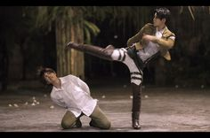 Levi beating Eren <--- I will go to next years Kumoricon cosplaying Levi.