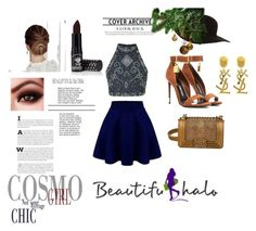 """Untitled #32"" by frappuci on Polyvore featuring Tom Ford, Chanel, American Apparel, Manic Panic and Yves Saint Laurent"