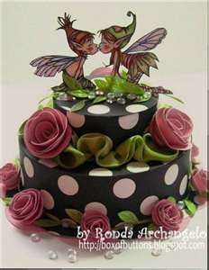I adore this fairy cake