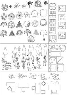 S mbolos de muebles usados en los planos de arquitectura for Simbologia arquitectonica para casas