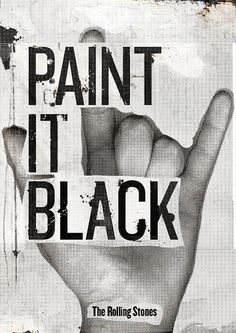 Paint it Black | Flickr - Photo Sharing!
