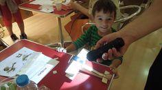 Δοκιμή λειτουργίας του ηλιακού αεροπλάνου (διπλάνου) με τη βοήθεια ενός ...φακού!!