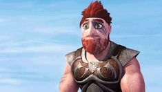 Dagur smiles. I can't help but smile when I see this.