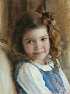 El arte del retrato y la pintura.  Well done!!! qb