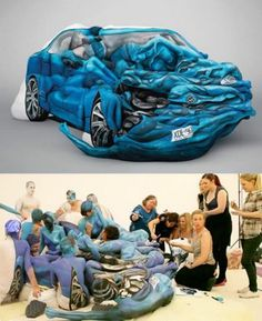 Awesome Body Painting & Contortion (5 Pics) | #MostBeautifulPages