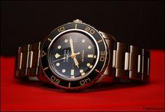 Fifty Five Fathoms on stainless steel bracelet  [Seiko Men's SNZH57 Seiko 5]