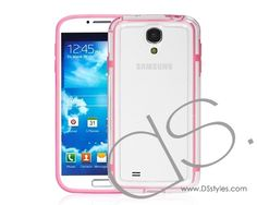 Bumper Series Samsung Galaxy S4 Cases i9500 - Pink http://www.dsstyles.com/samsung-galaxy-s4-cases/bumper-series-i9500-pink.html