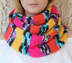 Knit-Scarf-with-button-infinity-scarf-circle-scarf-loop-scarf-knit-infinity-scarf-button-scarf-open-weave-knit-scarf