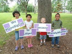 We #GiveBigDoG to Lilliput because #FamilyMatters