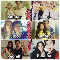 Parejas Soy Luna♥★ Disney Channel, Image Fun, Time Of Your Life, Son Luna, Disney Films, My Love, Celebrities, Funny, Gaston