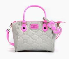 Hello Kitty Handbag: Neon Pink