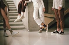 Transparency. Organic Materials. Fair Trade Sourcing.  // Learn more about Veja on the Journal or shop the collection now in-store and online! : @veja #WearVert