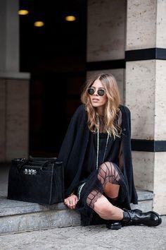 Meet The Blogger Who Dresses Like an Olsen Twin | WhoWhatWear.com . #fashion #followme | Join me @jennyallenn fashion blog style