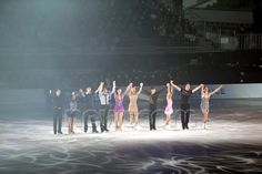 Skaters, JANUARY 10, 2015 - Figure Skating : Stars on Ice Japan Tour 2015 at Namihaya Dome in Osaka, Japan. (Photo by AFLO SPORT)