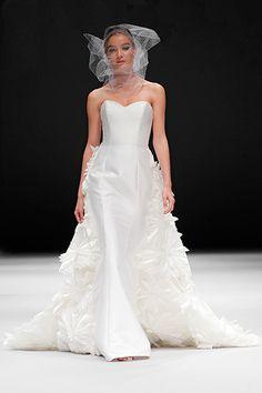 "Badgley Mischka Spring 2015 Bridal Collection ""Hepburn"" Gown"
