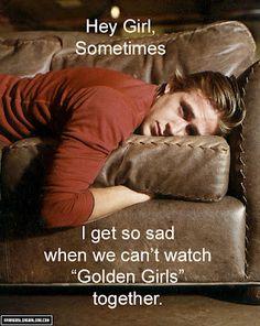 One of my favorite Hey Girl memes. #GoldenGirls #RyanGosling