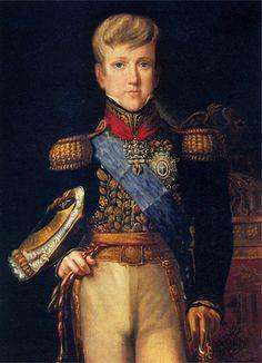 Retrato do Imperador D. Pedro II aos 12 anos