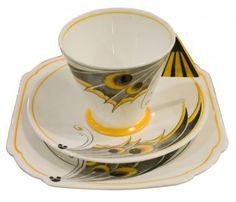 Shelley china set beautiful set of the Deco period...