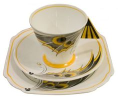 Shelley china set beautiful set of the Deco period...