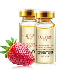 Brand Original Fluid  Hyaluronic Acid Essential Lotion 10ml Deep Water Whitening  Hydorlyzed Collagen Oringinal Fluid10ml A1513