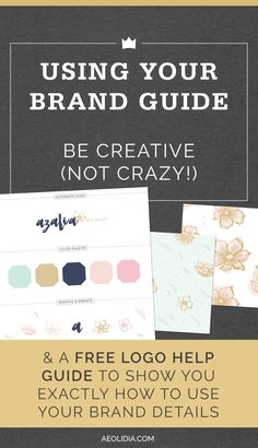 You have probably seen some gorgeous brand guides on Pinterest, with color schemes, graphics, patterns, and fonts. Maybe you have one of your own, or you're creating one for your business right now. But how to use graphic design for your brand in the real world? Where to get started?