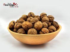 Bol en bois pour les noix ou des bonbons : Cuisine et service de table par tournage