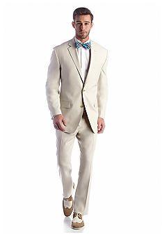 Michael Kors Cream Stripe Suit...(Belk) Mens Tailored Suits, Mens Suits, Cream Suits For Men, Night Out, Suit Jacket, Michael Kors, Mens Fashion, How To Wear, Jackets
