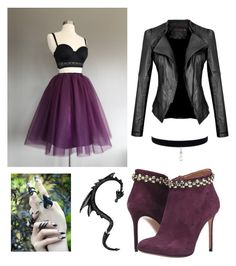 """""""purple"""" by sabrina-palmer ❤ liked on Polyvore featuring Viktor & Rolf"""