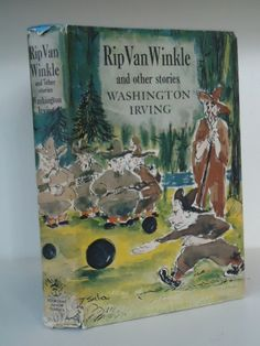Vintage Childrens Book Rip Van Winkle and Other by bittybjoy, $17.00