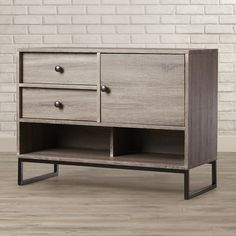 Features:  -Includes one (1) Buffet.  -Two (2) Drawers.  -One (1) Door.  -One…