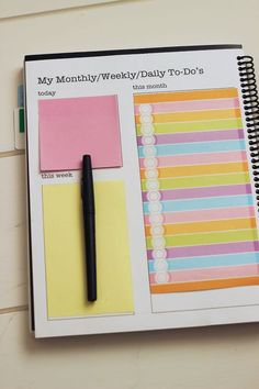 planner and stationery image