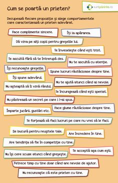 Prietenia adevarata - SuntParinte.ro Kindergarten Activities, Therapy Activities, Science Activities, Preschool, Kids And Parenting, Parenting Hacks, Romanian Language, Kids Poems, Motivational Messages