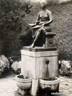 Hamupipőke - Kút szobor