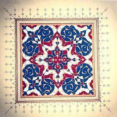 Nursun K. Tezhip-Rumi desen çalışması...