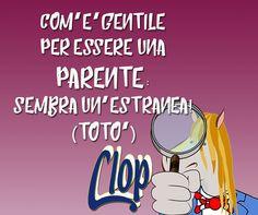 #gentile #parente #Clop #cavallino